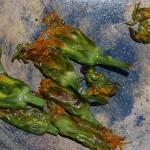 Aiah's sauteed Scorzonera buds