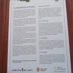 Poster about Plantearven - Plant Heritage - at Portåsen