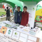 Luan Van Le​ with Helene C. Bohler​ of the Norwegian Permaculture Association!