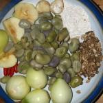 Golpar used as an alternative to cumin in broad bean falafel!