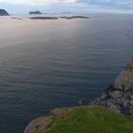 Bird islands seen from Skomvær Lighthouse