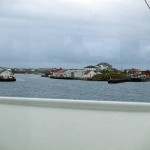 Entering the harbour at Røst