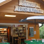 "Steinstø ""Fruit and cake shop"" :) had a good selection of varieties of locally grown fruit!"