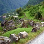 The road to Hege and Eirik's LAND centre