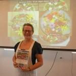 Elisabeth Kallevik Nesheim, our lovely knowledgeable host at Nesheimstunet!