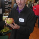 It was good to meet Mark Christensen of the Heritage Food Crops Research Trust his own discovery, Monty's Surprise Apple (also known as the anti-cancer apple), a wildling found by a roadside and it is believed that this apple is the best in the world for human health (https://heritagefoodcrops.org.nz/montys-surprise)