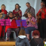 The local ukulele orchestra!