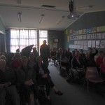 A good friendly Southland crowd at my talk!