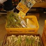 Rakkyo, Allium chinense on the market