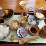 Gourmet lunch at the Kunputei tofu restaurant...I miss the Japanese food!
