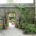 The entrance to the Oxford Botanical Garden