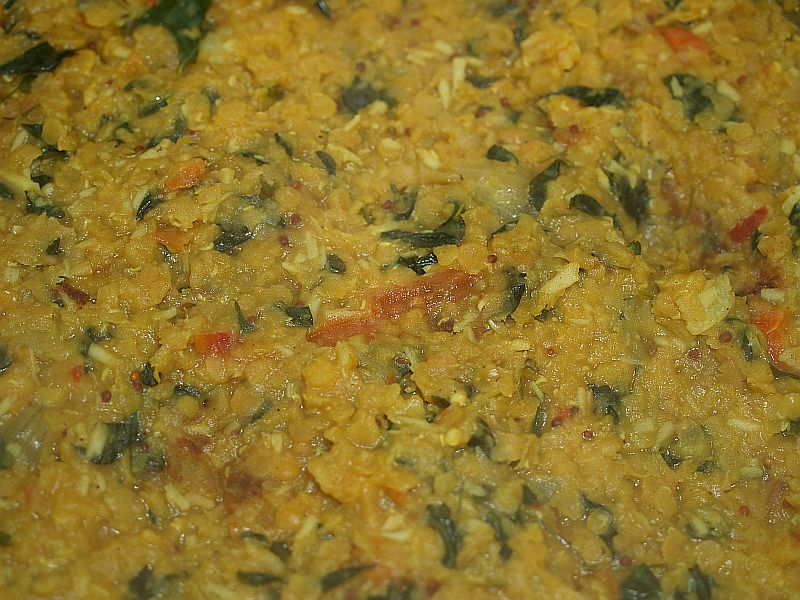 Lentil-Moringa curry