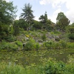 The world famous rock garden at Utrecht