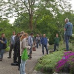 ..and I bumped in to the garden's Gerard van Buiten leading a tour of the garden! Good to meet you in person, Gerard