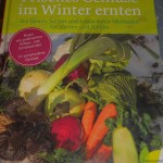 Wolfgang's book on winter harvested vegetables!