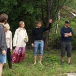 Eivind Permakulturdesigner Bjørkavåg preaching hugelbeds