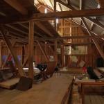 The barn where I gave my talk!