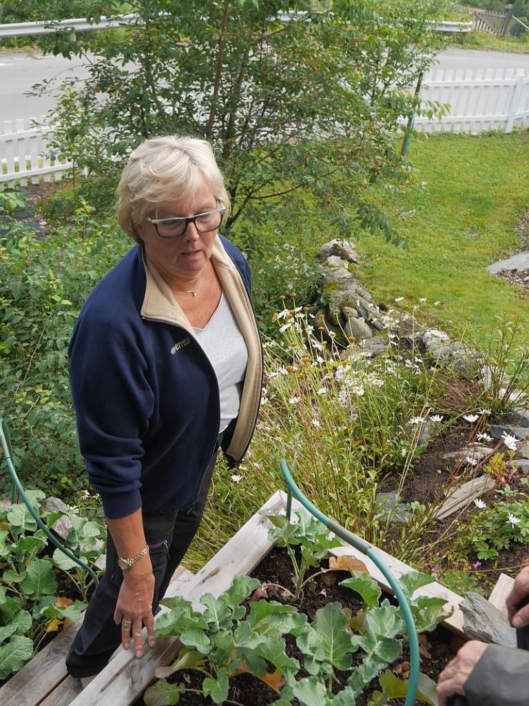 The garden owner..