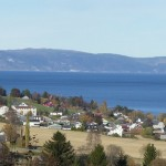 View over Malvik and my house
