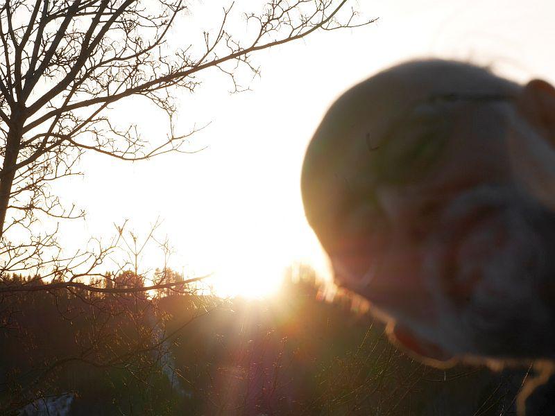 Annual first sunrise danse selfie!