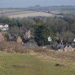 Shawford Down walk down to the village