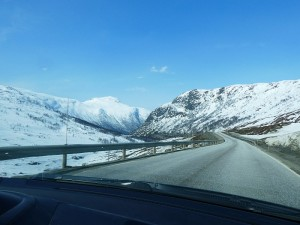 On the way over Hemsedalsfjellet to Sogn