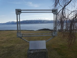 Frame dedicated to an artist colony from Balestrand