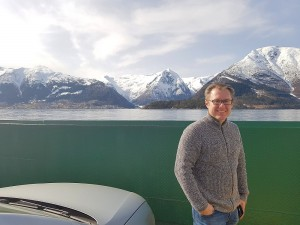 Ferry across to Balestrand....Andrew coming home ;)