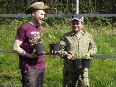 P1030347 -- Ivan Kamburov and helper Raytcho Raytchev at Kathcul Garden nursery