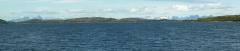 Distant view of the Lofoten Islands