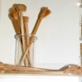 Guelder rose toothbrushes