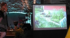 Great talk by Philipp Weiss -- Great talk by Philipp Weiss (another album to come of pictures from his own forest garden)