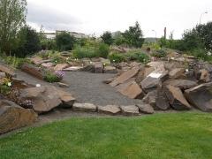 The new rock garden -- The new rock garden