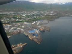 Landing at Akureyri  -- Landing at Akureyri