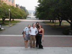Rob, Arthur, Lacia Lynne Bailey (the Goat lady) and Krystal Stewart -- <p>