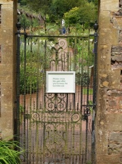 The entrance to the walled garden -- The entrance to the walled garden