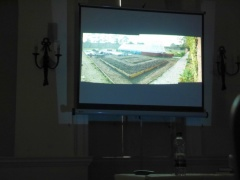 Sunken greenhouse and viticulture -- From Tim Phillips' second talk...in which he talked about the restoration of a sunken greenhouse and the viticulture techniques he employs
