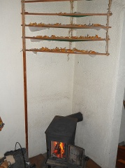 Cleaned and drying -- All cleaned and now drying over my wood stove :)