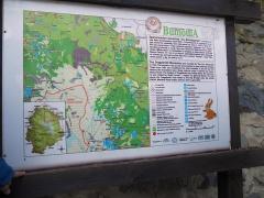 Vitosha mountain and Dragalevtsi monastery map -- Vitosha mountain and Dragalevtsi monastery map