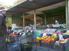 Roadside veggie stall -- Roadside veggie stall