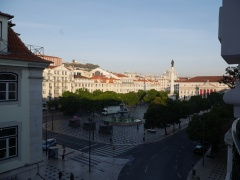 View from my hotel in Lisbon -- View from my hotel in Lisbon