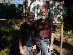 With Jorge Corona in Jardim dos Aromas -- With Jorge Corona in Jardim dos Aromas