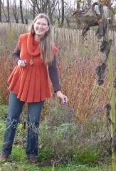 Aiah Noack explains about the NOMA edible flowers -- Aiah Noack explains about the NOMA edible flowers