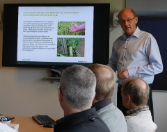 Agrotech's project on heirloom Danish peas and beans -- Testing of varieties of heirloom peas and beans collected by Danish Seed Savers for organic agriculture at semi-commercial scale and testing of acceptance by the market.