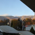 Morning view of Vitosha mountain from my hotel room