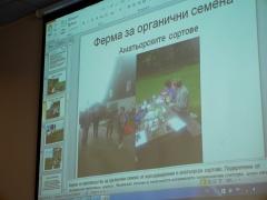 Margarita in Norway -- Margarita's presentation was about her trip to Norway