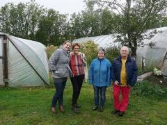 Spot the old hippy? -- Spot the old hippy? From left to right: Auður Ingibjörg Ottesen, Hildur Arna Gunnarsdóttir, Ingolfur Gudnason  and Sigrún Elfa Reynisdóttir