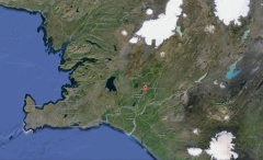 Location of Engi in SW Iceland -- Location of Engi in SW Iceland