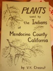 Plants used by the Indians of Mendocino County, California
