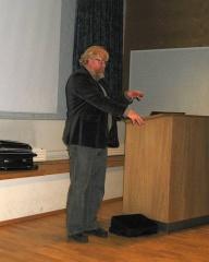 Åke Truedsson in action -- Åke Truedsson in action in Suhmhuset